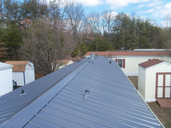 Roof Repair Metal Roof Repair For Mobile Homes